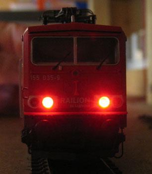 Lok LED Umbau Unklarheit bei der Helligkeit von LEDs